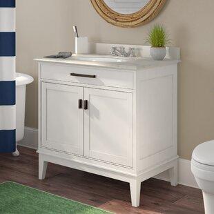 Milton 36 Single Bathroom Vanity Set By Longshore Tides