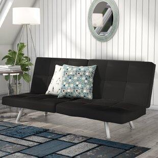 Zipcode Design Dudley Chrome Convertible Sofa