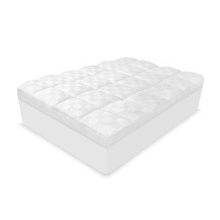 Gledhill Luxury Euro Top 500 Thread Count Mattress Pad