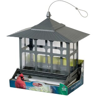 Woodstream Wildbird Squirrel Be Gone II Hopper Bird Feeder