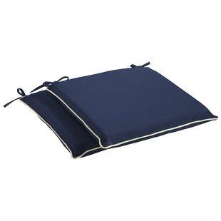 Beachcrest Home Indoor/Outdoor Sunbrella Dining Chair Cushion (Set of 2)