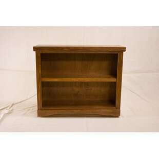 Curtsinger 2 Shelf Traditional Standard Bookcase