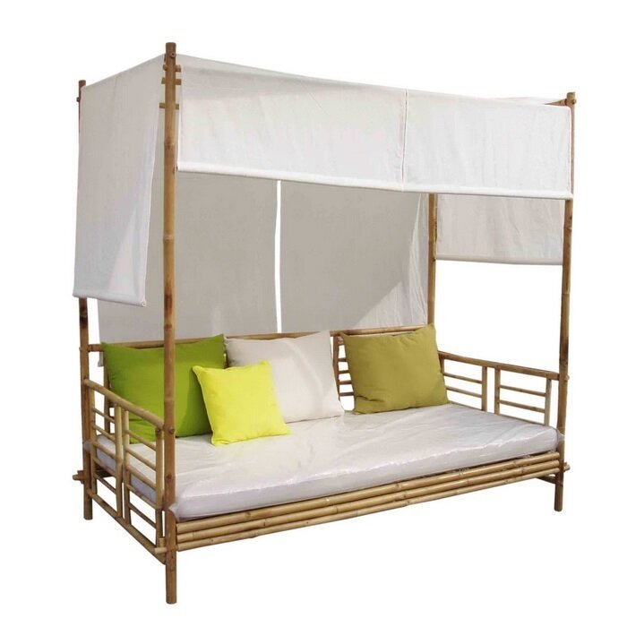 Aubrie Canopy Daybed  sc 1 st  Wayfair & Beachcrest Home Aubrie Canopy Daybed u0026 Reviews | Wayfair