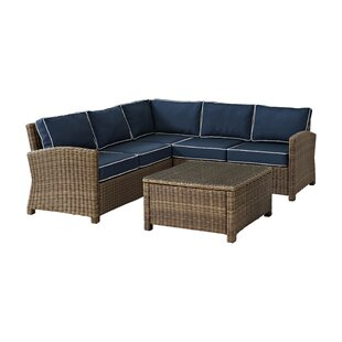 Lawson 4 Piece Sectional Set with Cushions