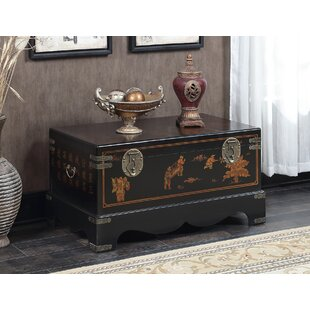 World Menagerie Raiden Coffee Table with Trunk