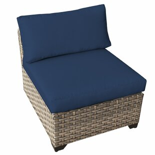 TK Classics Monterey Armless Chair with C..