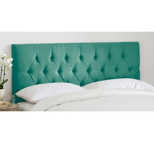 Molesley Tufted Regal Upholstered Panel Headboard by House of Hampton