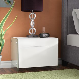 Andrew 1 Drawer Nightstand by Wade Logan