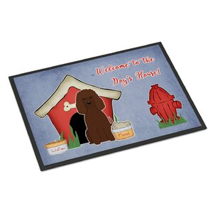 Buy Dog House Irish Water Spaniel Doormat!