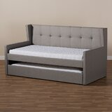 Lexa Twin Daybed with Trundle by Ebern Designs