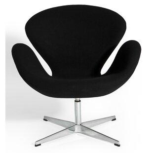 Orren Ellis Elizabeth Swivel Lounge Chair