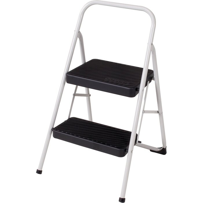 Magnificent 2 Step Household Folding Step Stool Caraccident5 Cool Chair Designs And Ideas Caraccident5Info