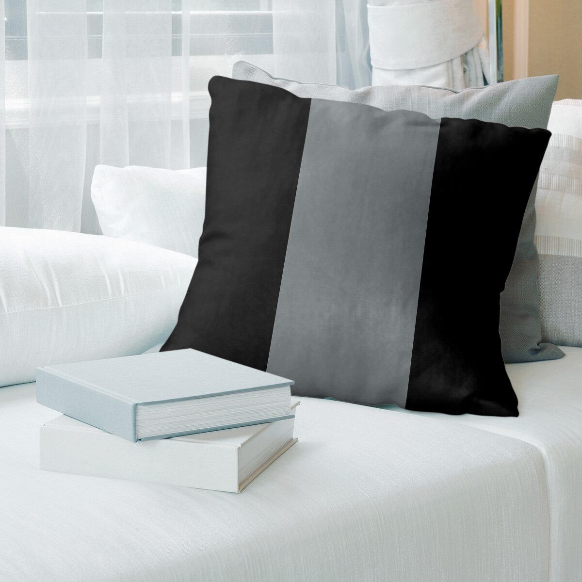 East Urban Home Arizona Hockey Striped Throw Pillow Cover Wayfair