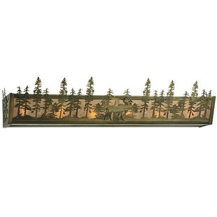 Meyda Tiffany Moose at Dusk 6-Light Bath Bar
