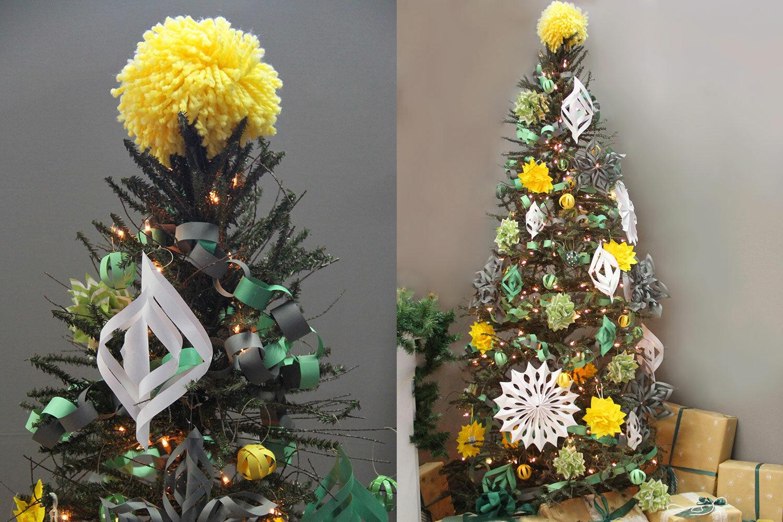 Diy Yarn Pompom Tree Topper Wayfair