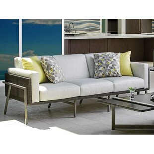 Del Mar Patio Sofa with Cushions by Tommy Bahama Outdoor