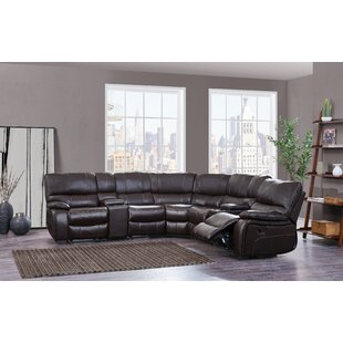 Yoni Reclining Sectional Red Barrel Studio