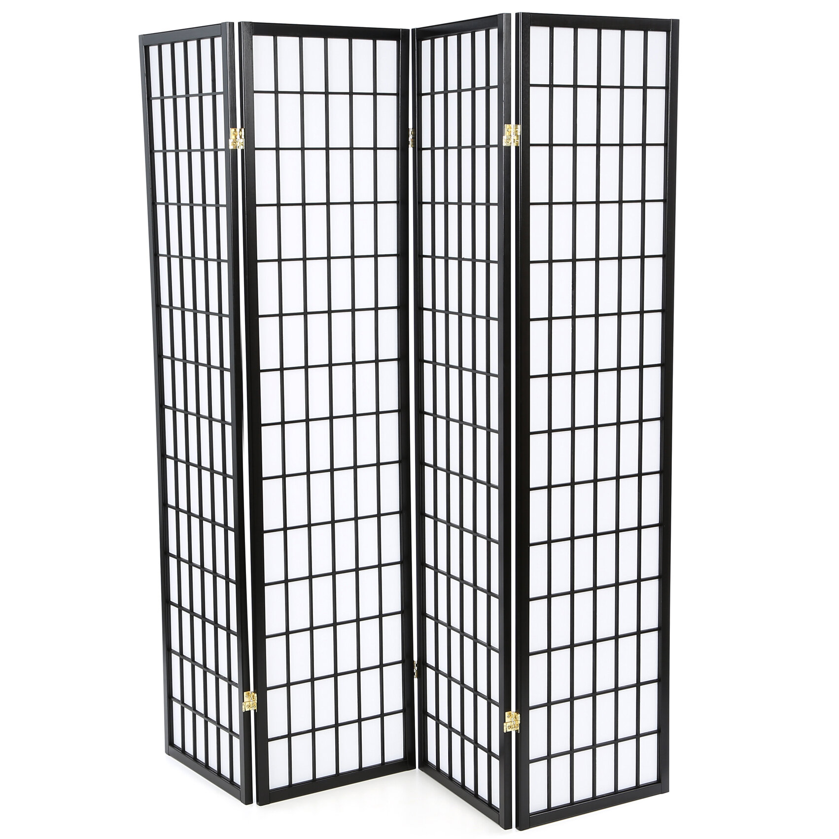 Wildon Home Quincy Japanese 4 Panel Room Divider Reviews