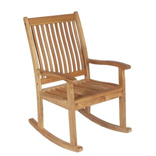 Lake Macquarie Highback Teak Rocking Chair