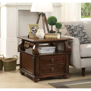 Best Reviews Sutphin Wooden End Table by Astoria Grand
