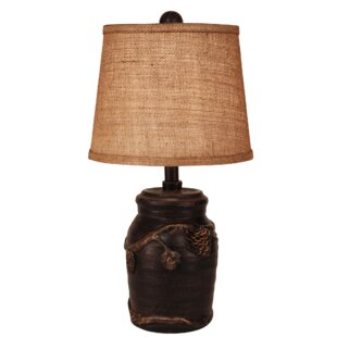 Michael Mini Pine Cone 20 Table Lamp