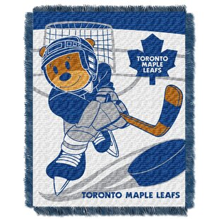 Reviews NHL Maple Leafs Baby Woven Throw Blanket ByNorthwest Co.