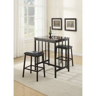 Presson 3 Piece Counter Height Dining Set by Winston Porter