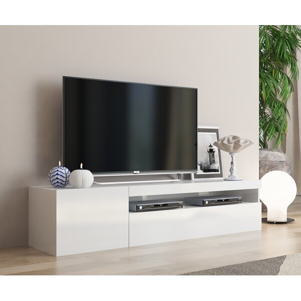 Orren Ellis Cribbs Tv Stand For Tvs Up To 70 Reviews Wayfair