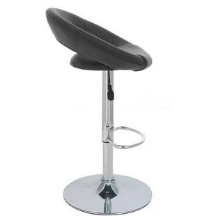 Rho Adjustable Height Swivel Bar Stool (S..