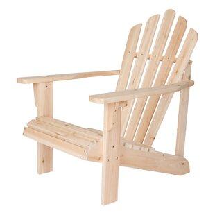 Cordelia Solid Wood Adirondack Chair