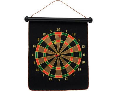 Double Sided Magnetic Dart Board Cuestix