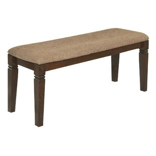 Sienna Upholstered Bench by Alcott Hill