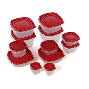 12 Container Food Storage Set