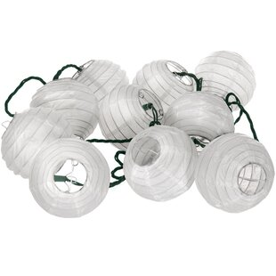 10 Ft. 10-Light Lantern String Lights by Oriental Furniture Spacial Price