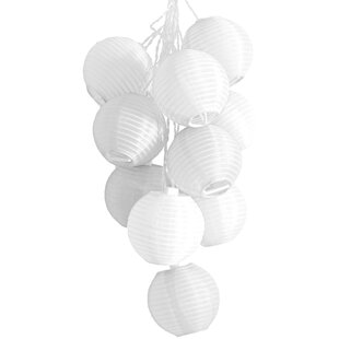 Affordable Binns 10-Light 35 ft. Lantern String Lights By Wrought Studio