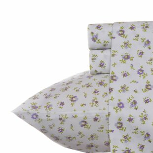 Petite Fleur 300 Thread Count 100% Cotton Sheet Set by Laura Ashley New Design