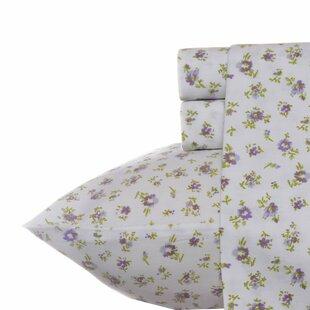 Petite Fleur 300 Thread Count 100% Cotton Sheet Set by Laura Ashley