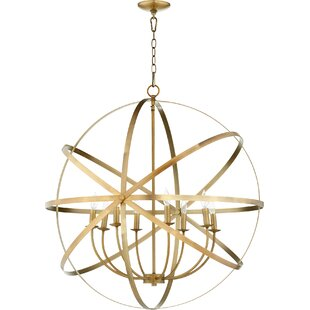 Willa Arlo Interiors Dian 8-Light Globe Chandelier