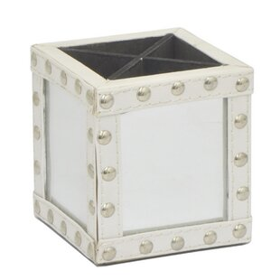 Darby Home Co Cammie Mirrored Pencil Holder