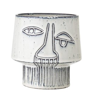 Stone Plant Pot By Bloomingville