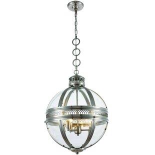 Price comparison Rio 3-Light Globe Chandelier By Darby Home Co