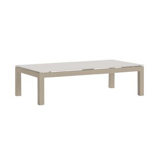 Claiborne Aluminium Coffee Table By Mercury Row