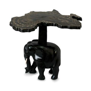 Deals McHenry Elephant Wood End Table by Bloomsbury Market