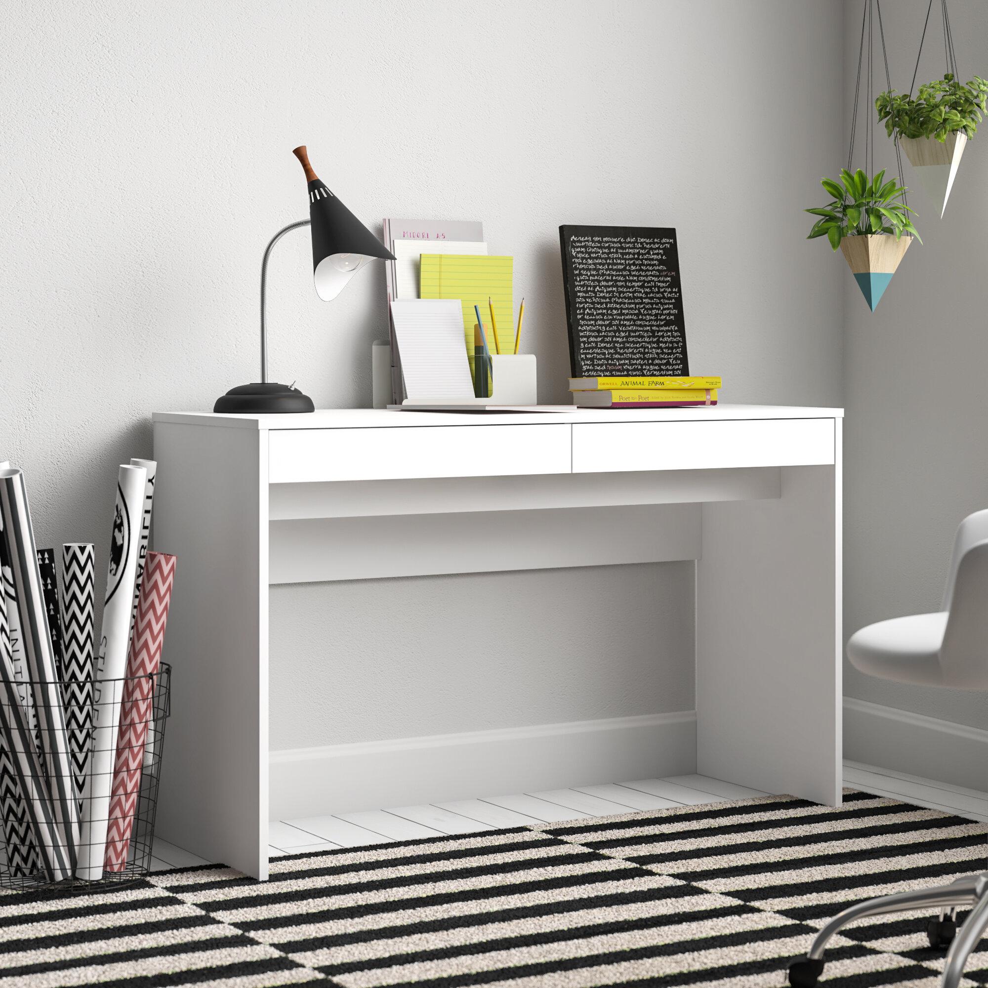 Zipcode Design Aliyah Writing Desk Reviews Wayfair