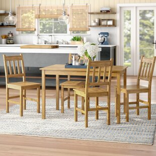 Harley 5 Piece Dining Set Beachcrest Home