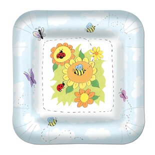 Garden Paper Plate