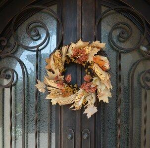 "Artificial Indian Corn Husk 26"" Wreath"