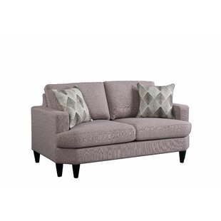 Bedworth Loveseat w/2 Pillows by Brayden Studio