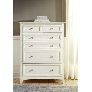Burris 6 Drawer Chest by Alcott Hill