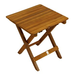 Gast Foldable Wooden Side Table By Sol 72 Outdoor